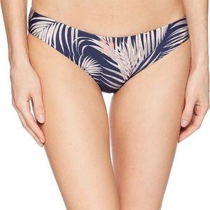 Tavek Ali Palm Mini Swim Bikini Bottom Blue Large